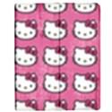 Hello Kitty Patterns Apple iPad 2 Flip Case View1