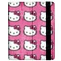 Hello Kitty Patterns Apple iPad 2 Flip Case View2
