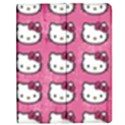 Hello Kitty Patterns Apple iPad 3/4 Flip Case View1