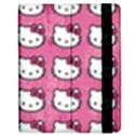 Hello Kitty Patterns Apple iPad 3/4 Flip Case View2