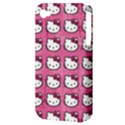 Hello Kitty Patterns Apple iPhone 4/4S Hardshell Case (PC+Silicone) View3