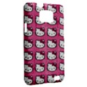 Hello Kitty Patterns Samsung Galaxy S II i9100 Hardshell Case (PC+Silicone) View2