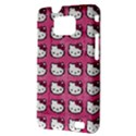 Hello Kitty Patterns Samsung Galaxy S II i9100 Hardshell Case (PC+Silicone) View3