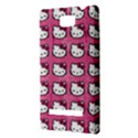 Hello Kitty Patterns HTC 8S Hardshell Case View3