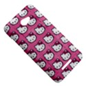 Hello Kitty Patterns HTC Butterfly X920E Hardshell Case View5