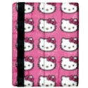 Hello Kitty Patterns Samsung Galaxy Tab 10.1  P7500 Flip Case View2