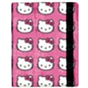 Hello Kitty Patterns Samsung Galaxy Tab 10.1  P7500 Flip Case View3