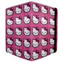 Hello Kitty Patterns Samsung Galaxy Tab 10.1  P7500 Flip Case View4