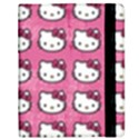 Hello Kitty Patterns Samsung Galaxy Tab 8.9  P7300 Flip Case View2