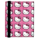 Hello Kitty Patterns Samsung Galaxy Tab 8.9  P7300 Flip Case View3