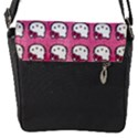 Hello Kitty Patterns Flap Messenger Bag (S) View1