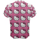 Hello Kitty Patterns Men s Cotton Tee View2