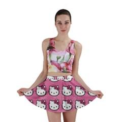 Hello Kitty Patterns Mini Skirt