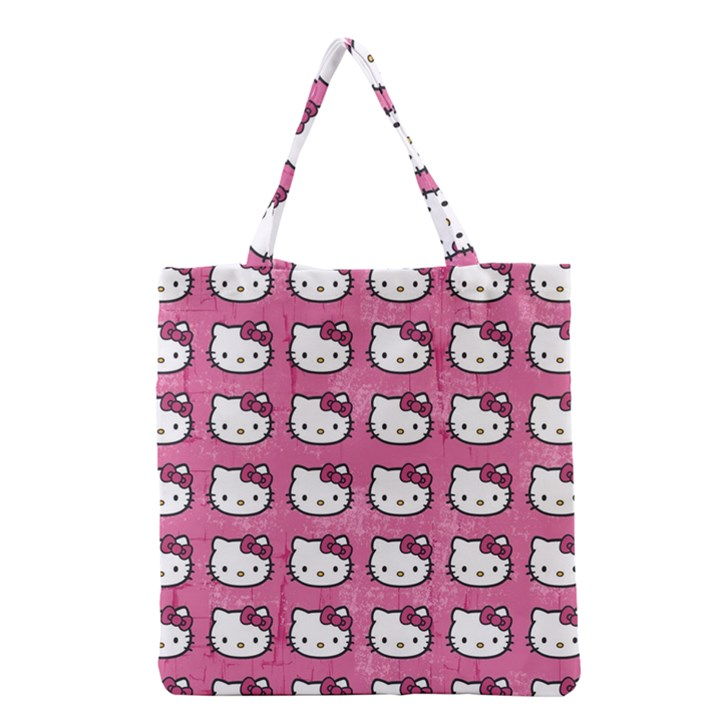 Hello Kitty Patterns Grocery Tote Bag