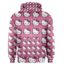 Hello Kitty Patterns Men s Pullover Hoodie View1