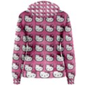 Hello Kitty Patterns Women s Pullover Hoodie View2