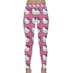 Hello Kitty Patterns Yoga Leggings