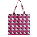 Hello Kitty Patterns Zipper Grocery Tote Bag View1