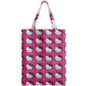 Hello Kitty Patterns Zipper Classic Tote Bag View1