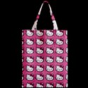 Hello Kitty Patterns Zipper Classic Tote Bag View2