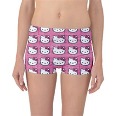 Hello Kitty Patterns Boyleg Bikini Bottoms