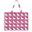 Hello Kitty Patterns Large Tote Bag View1
