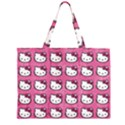 Hello Kitty Patterns Large Tote Bag View2