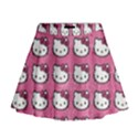 Hello Kitty Patterns Mini Flare Skirt View1