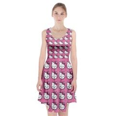 Hello Kitty Patterns Racerback Midi Dress