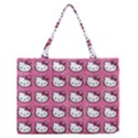 Hello Kitty Patterns Medium Zipper Tote Bag View1