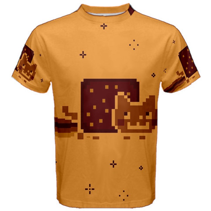 Nyan Cat Vintage Men s Cotton Tee
