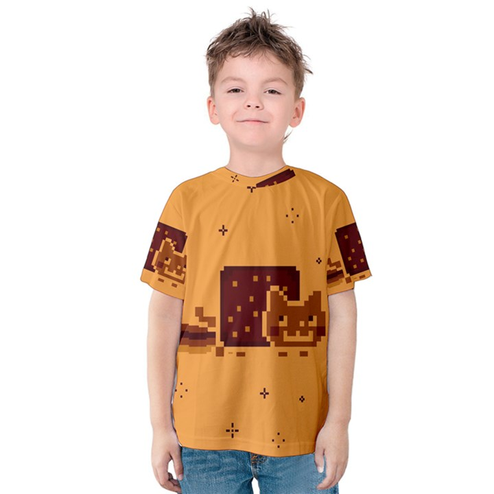 Nyan Cat Vintage Kids  Cotton Tee