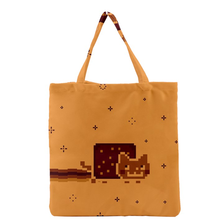Nyan Cat Vintage Grocery Tote Bag