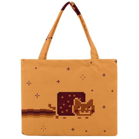 Nyan Cat Vintage Mini Tote Bag