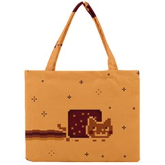 Nyan Cat Vintage Mini Tote Bag