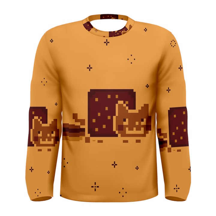 Nyan Cat Vintage Men s Long Sleeve Tee