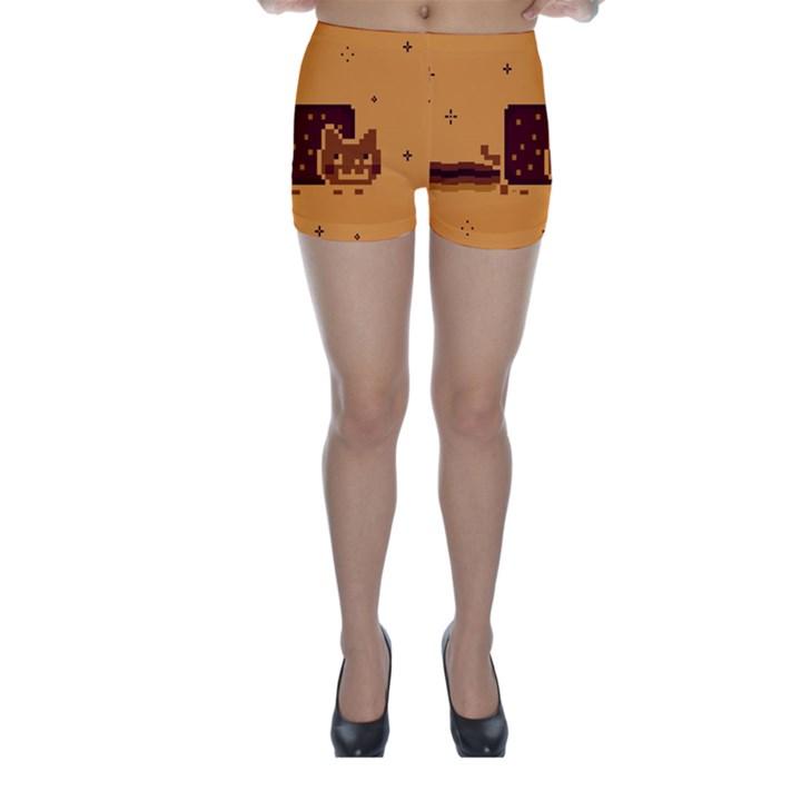 Nyan Cat Vintage Skinny Shorts