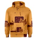 Nyan Cat Vintage Men s Pullover Hoodie View1