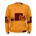 Nyan Cat Vintage Men s Sweatshirt View1