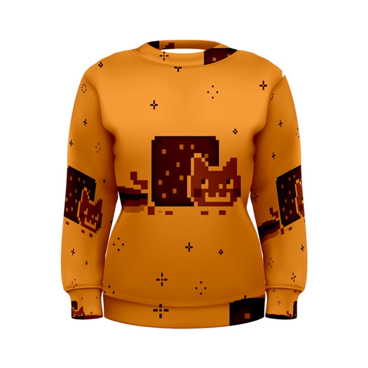 Nyan Cat Vintage Women s Sweatshirt