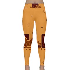 Nyan Cat Vintage Yoga Leggings