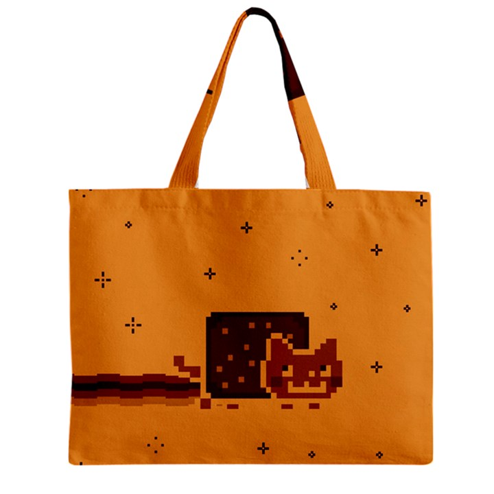 Nyan Cat Vintage Zipper Mini Tote Bag