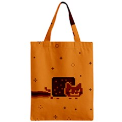 Nyan Cat Vintage Zipper Classic Tote Bag