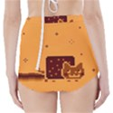 Nyan Cat Vintage High-Waisted Bikini Bottoms View2