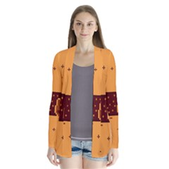 Nyan Cat Vintage Drape Collar Cardigan