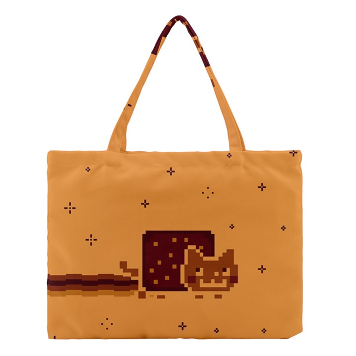 Nyan Cat Vintage Medium Tote Bag