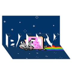 Nyan Cat PARTY 3D Greeting Card (8x4)