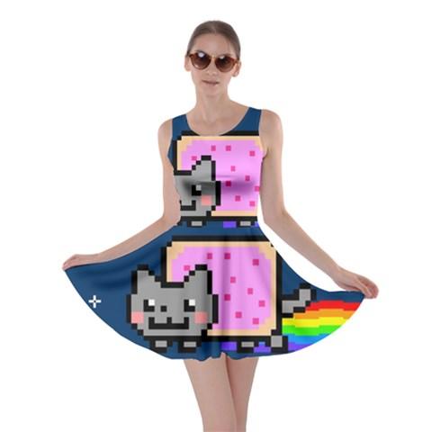 Nyan Cat Skater Dress