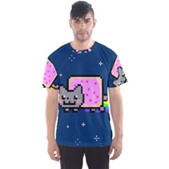 Nyan Cat Men s Sport Mesh Tee