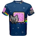 Nyan Cat Men s Cotton Tee View1
